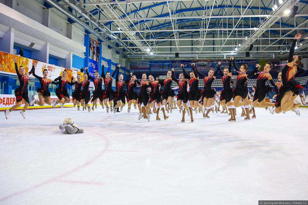 Питерская команда парадиз представит россию на чемпионате мира по синхронному катанию