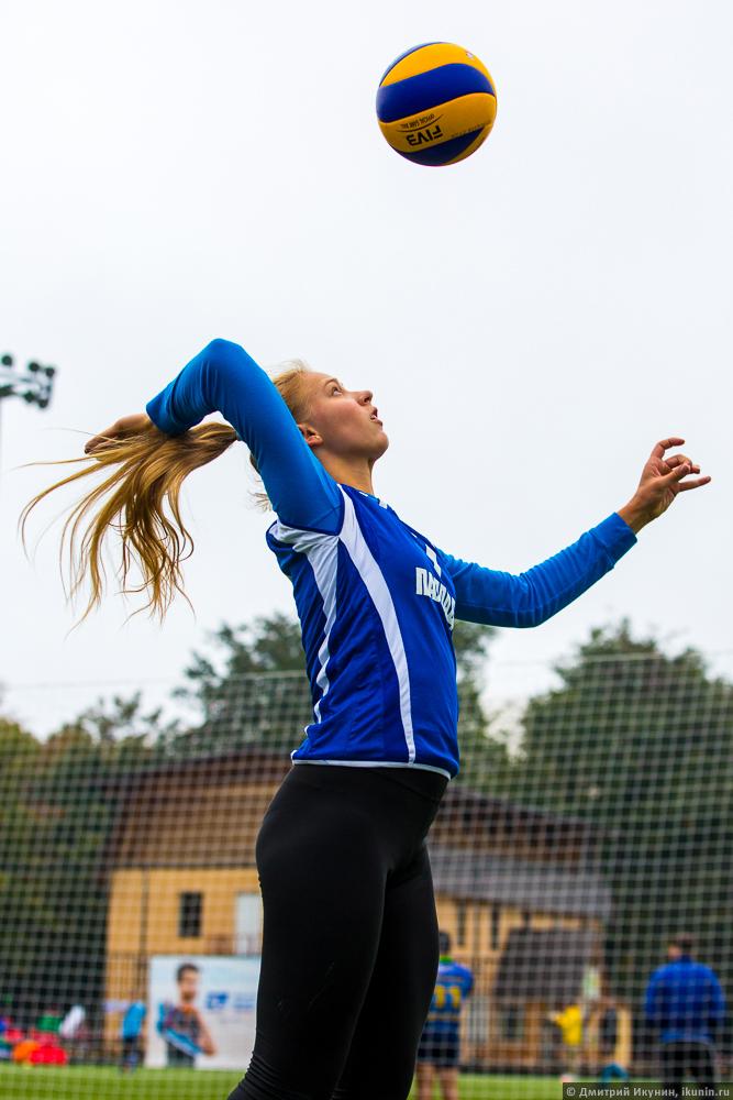 Фото блондинки волейболистки