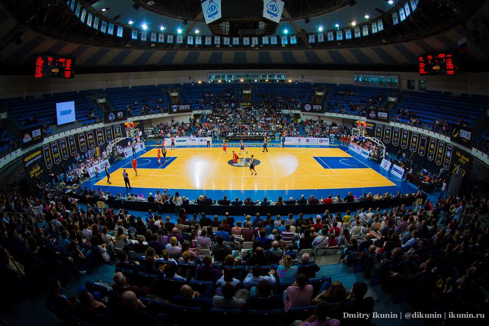 Дворец спорта Динамо в Крылатском