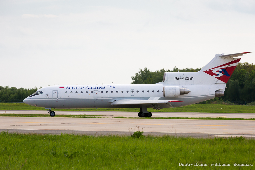 Як-42Д (RA-42361). Saratov Airlines