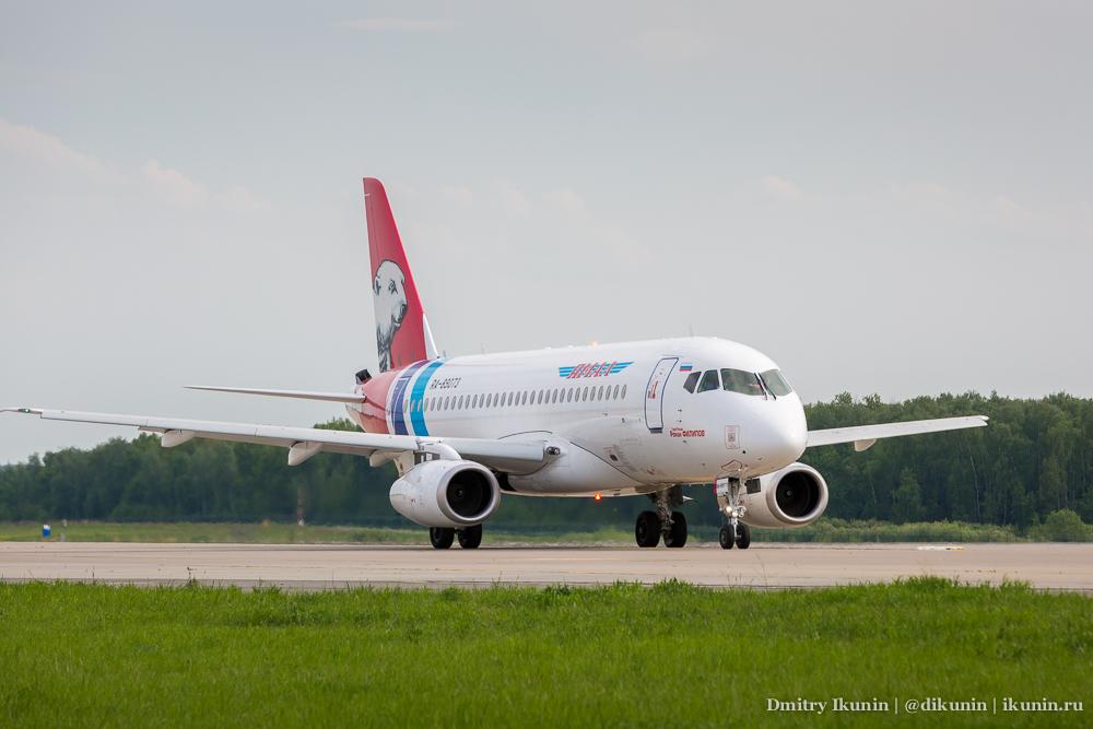Sukhoi Superjet 100 (RA-89073). Yamal Airlines