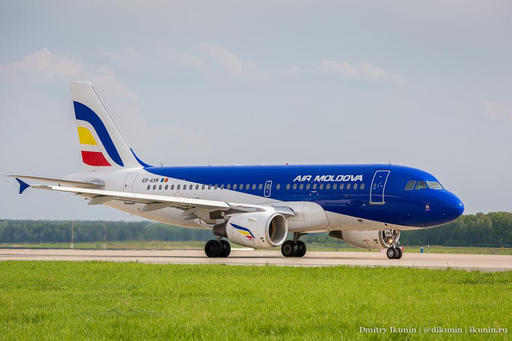 Airbus A319 (ER-AXM). Air Moldova