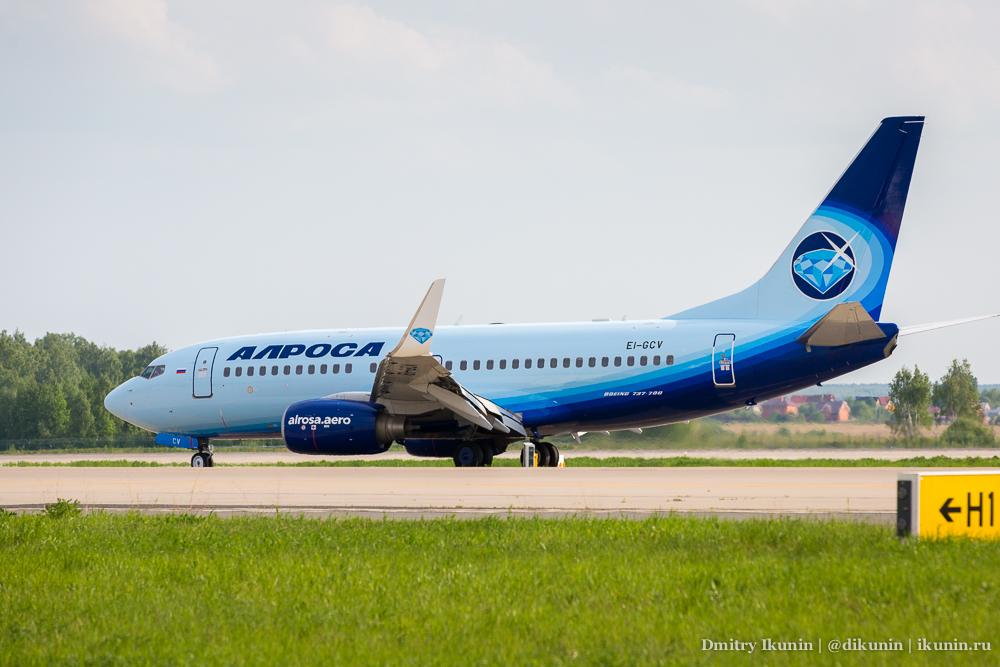 Boeing 737-700 (EI-GCV). Alrosa Aero