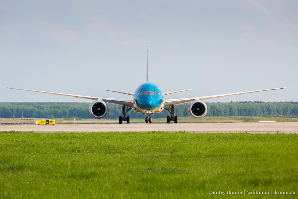 Boeing 787-9 Dreamliner (VN-A866). Vietnam Airlines