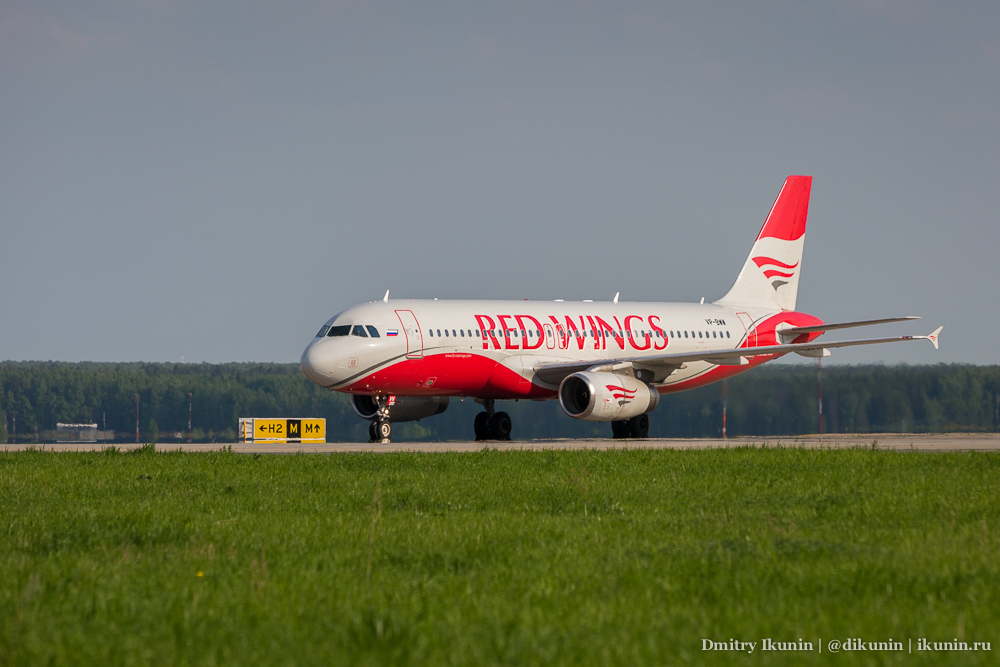 Airbus A320 (VP-BWW). Red Wings Airlines