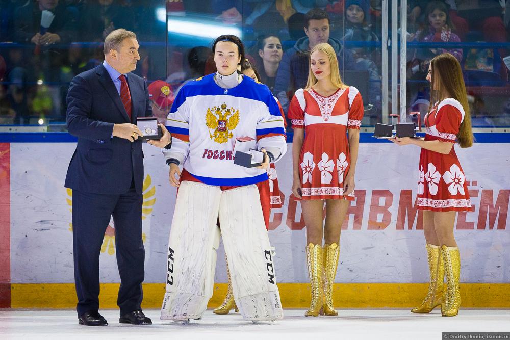 Владислав Третьяк и Диана Фархутдинова