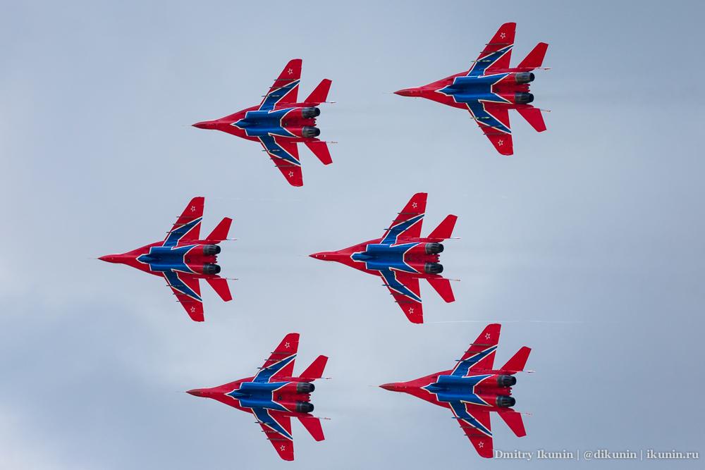 Стрижи / МиГ-29