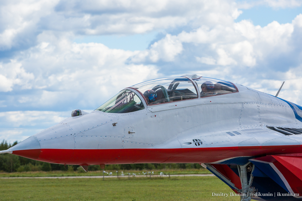 Стрижи / МиГ-29УБ (RF-91945)
