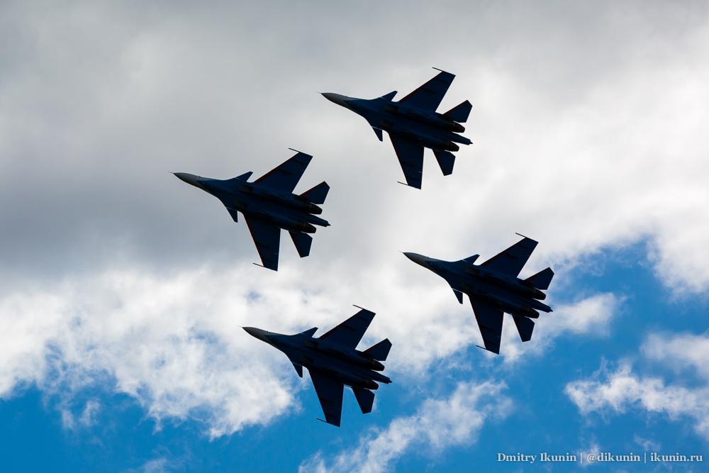 Русские Витязи / Су-30СМ