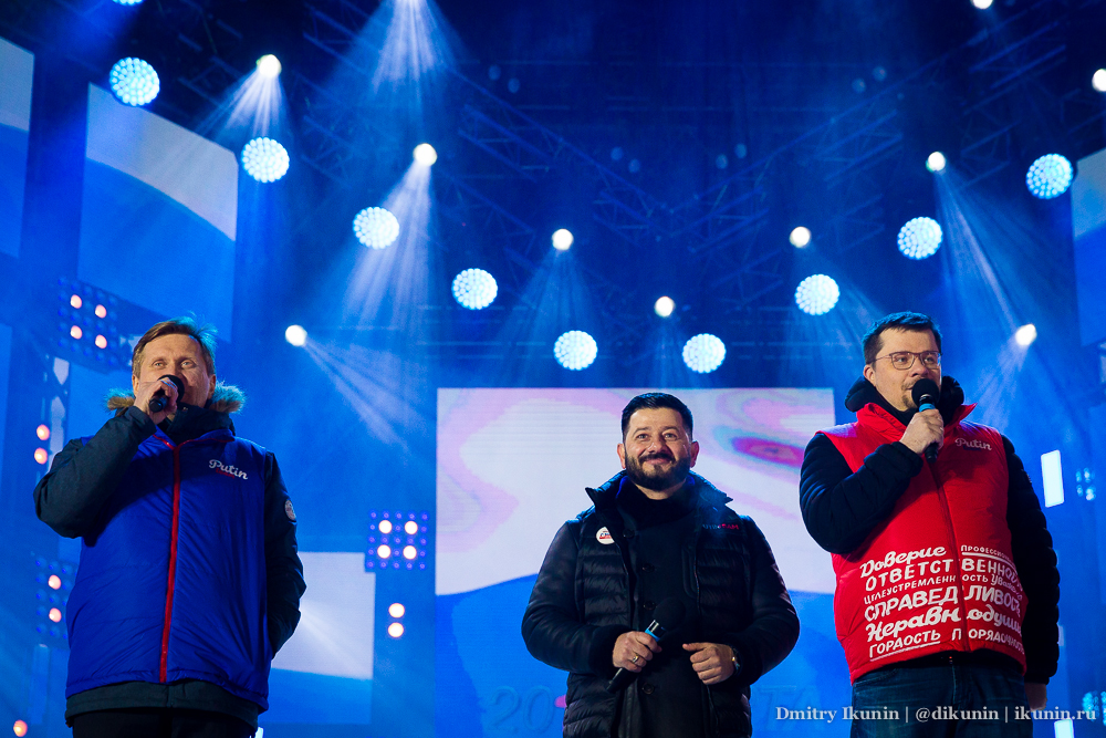 Андрей Рожков, Михаил Галустян и Гарик Харламов