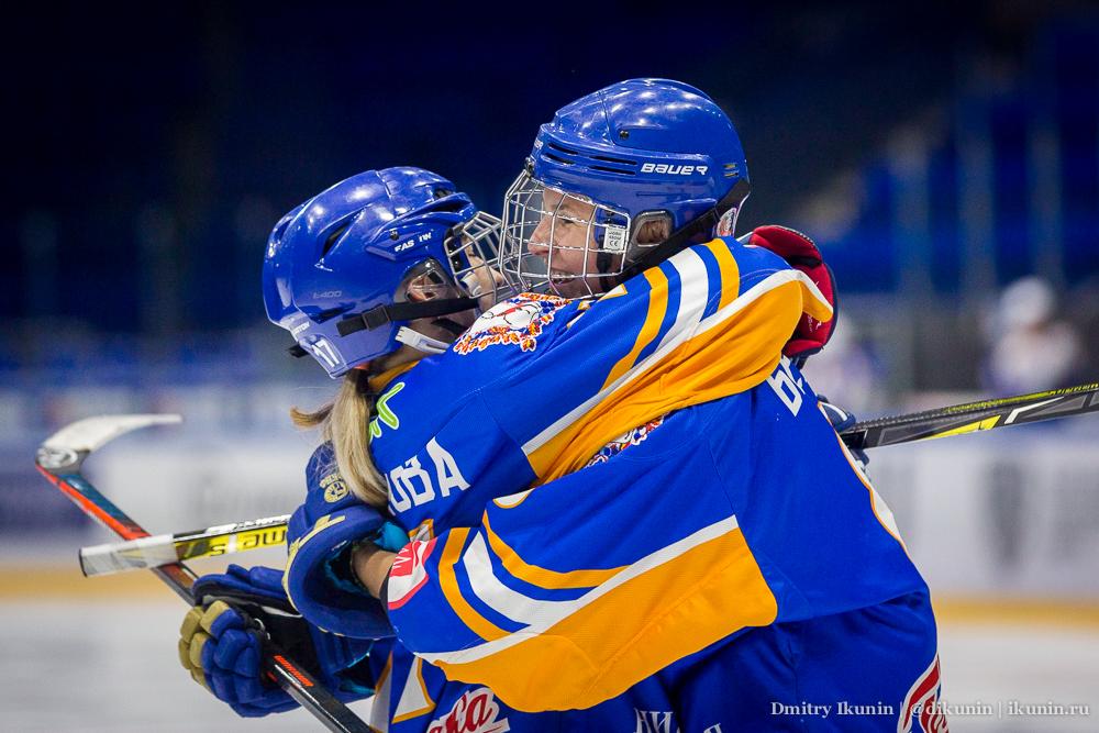 Ландыш Фаляхова и Мария Белова, хоккейный клуб СКИФ, Нижний Новгород