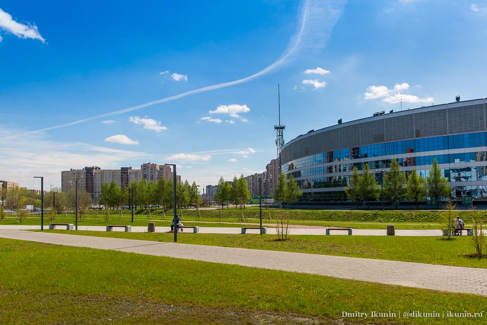 Ледовый дворец на проспекте Большевиков