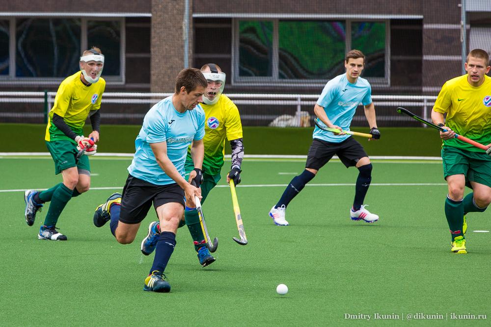 Хоккей на траве. Метрострой - Крылатское