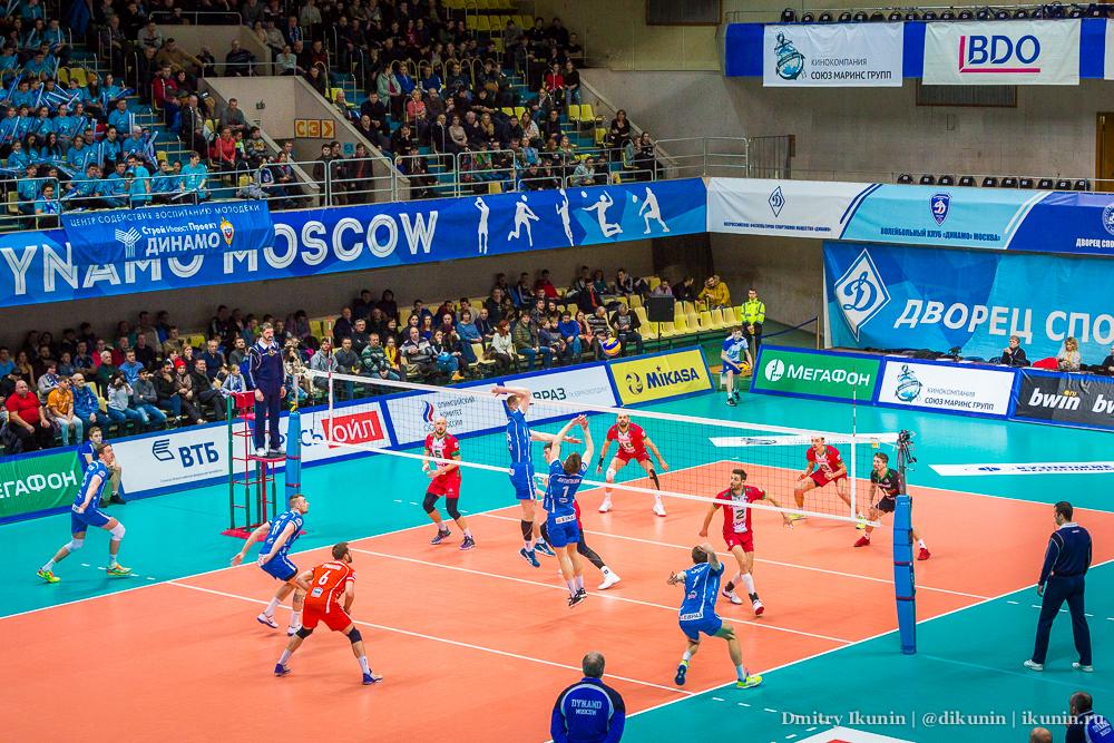 Дворец спорта «Динамо» на улице Лавочкина