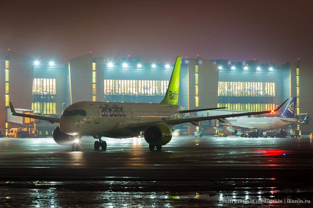 Airbus A220-300 (YL-CSI), Air Baltic