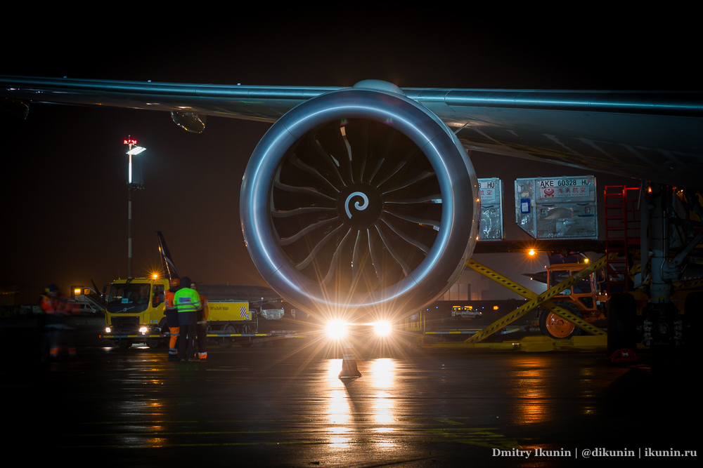 Двигатель General Electric GEnx-1B