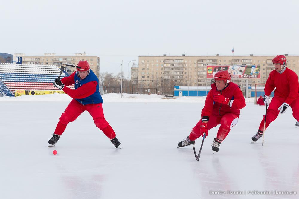 Игорь Иванов, Дмитрий Барляев и Андрей Усков