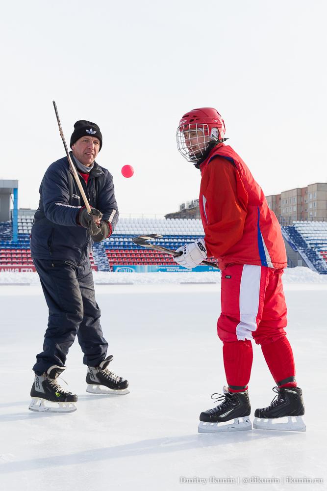 Юрий Сотников и Андрей Головин